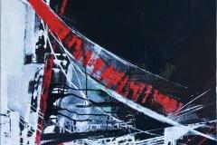 ARCO ROSSO # 1tecnica mista su tela80X802007