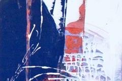 EE/BLU NOTTE BORDEAUX ROSSOtecnica mista su tela35X1352007
